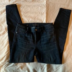 White House Black Market Ankle Button Jeans NWOT